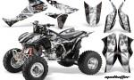 Honda TRX450 ER 09 AMR Graphic Kit MadHatter BLACK WHITESTRIPE WEB 150x90 - Honda TRX 450R 2004-2016 Graphics