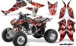 Honda TRX450 ER 09 AMR Graphic Kit SILVER REDSTRIPE MADHATTER WEB 150x90 - Honda TRX 450R 2004-2016 Graphics
