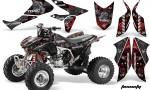 Honda TRX450 ER 09 AMR Graphic Kit TOXICITY BLACK REDBG 150x90 - Honda TRX 450R 2004-2016 Graphics