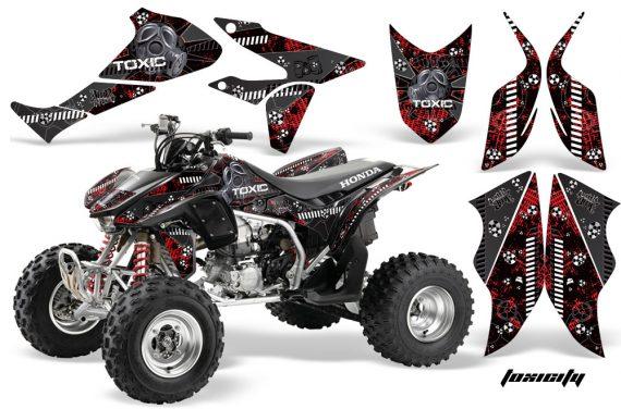 Honda TRX450 ER 09 AMR Graphic Kit TOXICITY BLACK REDBG 570x376 - Honda TRX 450R 2004-2016 Graphics