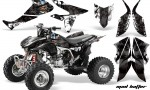 Honda TRX450 ER 09 AMR Graphic Kit WHITE BLACKSTRIPE MADHATTER WEB 150x90 - Honda TRX 450R 2004-2016 Graphics