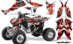 Honda TRX450 ER 09 AMR Graphic Kit WHITE REDSTRIPE MADHATTER WEB 150x90 - Honda TRX 450R 2004-2016 Graphics