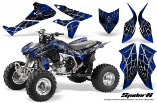 Honda TRX450R 04 12 CreatorX Graphics Kit SpiderX Blue 320x211 - Can-Am Maverick X3 TribalX Custom Version Graphics