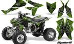 Honda TRX450R 04 12 CreatorX Graphics Kit SpiderX Green 150x90 - Honda TRX 450R 2004-2016 Graphics