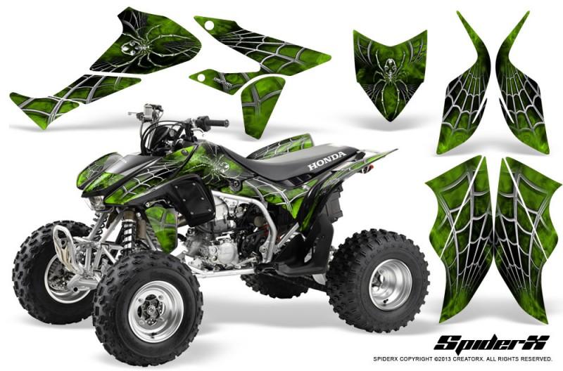 Honda-TRX450R-04-12-CreatorX-Graphics-Kit-SpiderX-Green