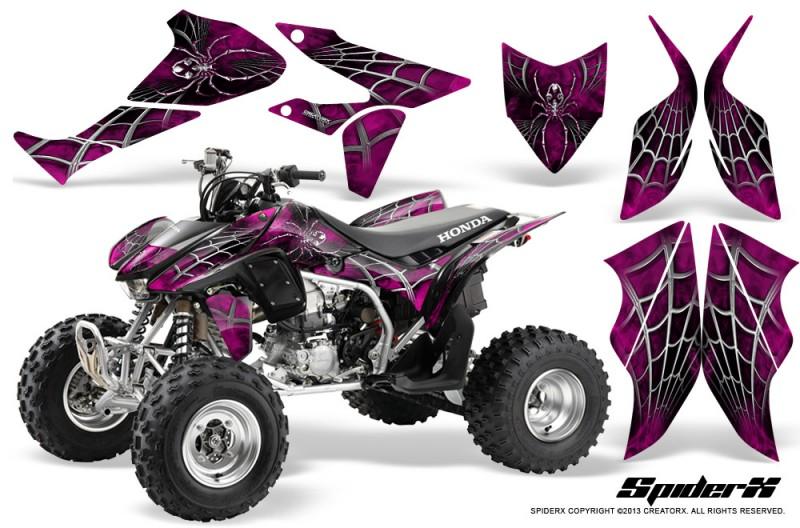 Honda-TRX450R-04-12-CreatorX-Graphics-Kit-SpiderX-Pink