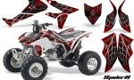 Honda TRX450R 04 12 CreatorX Graphics Kit SpiderX Red WB 150x90 - Honda TRX 450R 2004-2016 Graphics