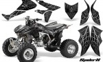 Honda TRX450R 04 12 CreatorX Graphics Kit SpiderX Silver 150x90 - Honda TRX 450R 2004-2016 Graphics