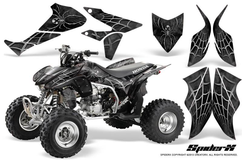 Honda-TRX450R-04-12-CreatorX-Graphics-Kit-SpiderX-Silver