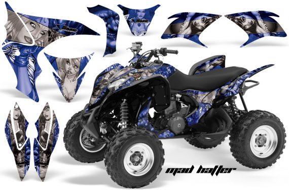 Honda TRX700 AMR Graphic Kit 2008 MAD HATTER BLUE SILVERSTRIPE 570x376 - Honda TRX 700XX Graphics