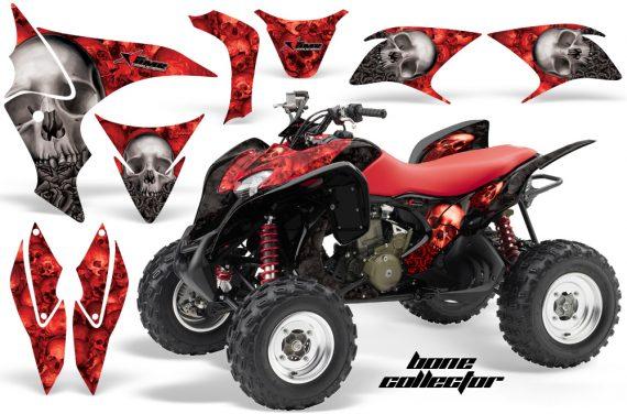 Honda TRX700 AMR Graphic Kit BoneCollector RED BLACK JPG 570x376 - Honda TRX 700XX Graphics