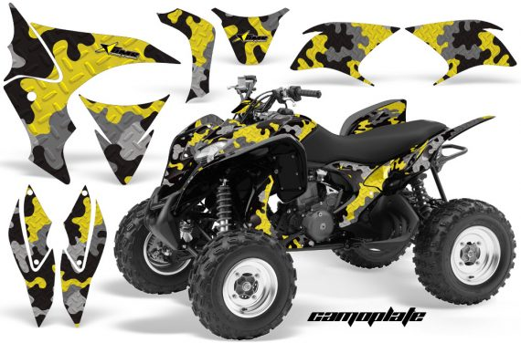Honda TRX700 AMR Graphic Kit CAMOPLATE SUZ YELLOW JPG 570x376 - Honda TRX 700XX Graphics
