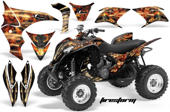 Honda TRX700 AMR Graphic Kit Firestorm BLACK JPG 570x376 - Honda TRX 700XX Graphics