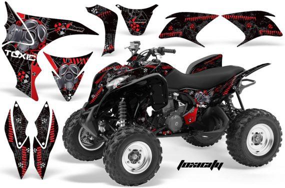 Honda TRX700 AMR Graphic Kit HONDA TRX 700 TOXICITY RED BLACKBG 1000 570x376 - Honda TRX 700XX Graphics