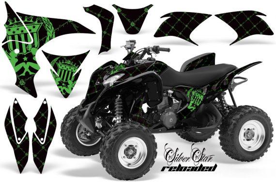 Honda TRX700 AMR Graphic Kit Reloaded GREEN BLACKBG JPG 570x376 - Honda TRX 700XX Graphics
