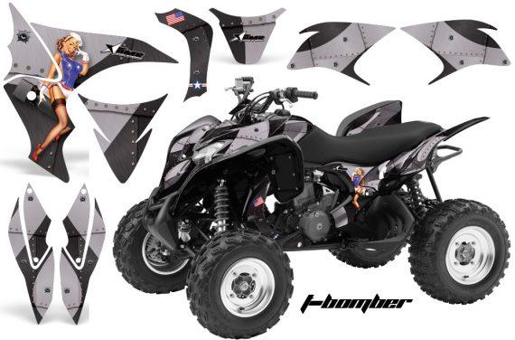 Honda TRX700 AMR Graphic Kit Tbomber Black JPG 570x376 - Honda TRX 700XX Graphics