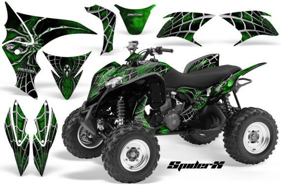 Honda TRX700XX 2008 CreatorX Graphics Kit SpiderX Green 570x376 - Honda TRX 700XX Graphics