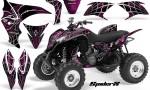 Honda TRX700XX 2008 CreatorX Graphics Kit SpiderX Pink 150x90 - Honda TRX 700XX Graphics