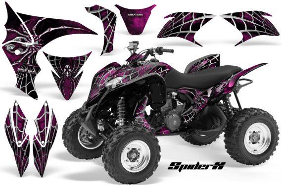 Honda TRX700XX 2008 CreatorX Graphics Kit SpiderX Pink 570x376 - Honda TRX 700XX Graphics