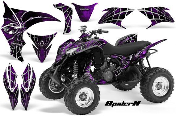 Honda TRX700XX 2008 CreatorX Graphics Kit SpiderX Purple 570x376 - Honda TRX 700XX Graphics