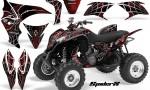 Honda TRX700XX 2008 CreatorX Graphics Kit SpiderX Red 150x90 - Honda TRX 700XX Graphics