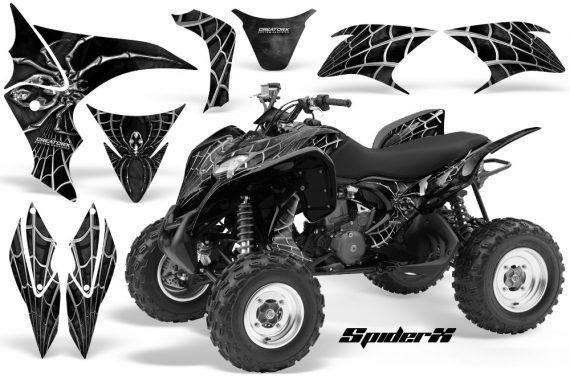 Honda TRX700XX 2008 CreatorX Graphics Kit SpiderX Silver 570x376 - Honda TRX 700XX Graphics
