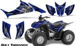 Honda TRX90 CreatorX Graphics Kit Bolt Thrower Blue 150x90 - Honda TRX 90 2006-2020 Graphics