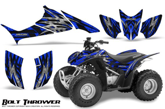 Honda TRX90 CreatorX Graphics Kit Bolt Thrower Blue 570x376 - Honda TRX 90 2006-2020 Graphics