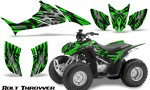 Honda TRX90 CreatorX Graphics Kit Bolt Thrower Green 150x90 - Honda TRX 90 2006-2020 Graphics