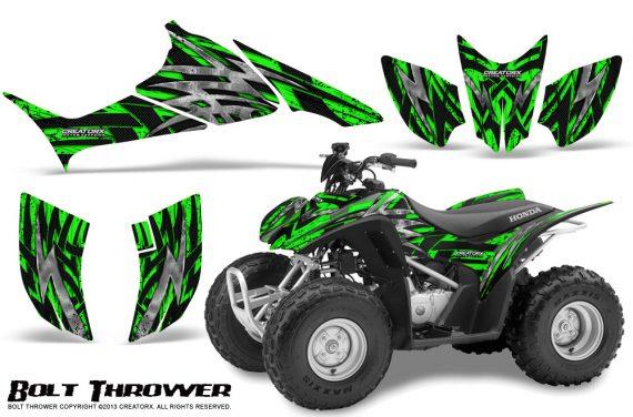 Honda TRX90 CreatorX Graphics Kit Bolt Thrower Green 570x376 - Honda TRX 90 2006-2020 Graphics