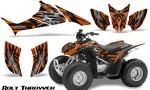 Honda TRX90 CreatorX Graphics Kit Bolt Thrower Orange 150x90 - Honda TRX 90 2006-2020 Graphics