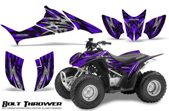 Honda TRX90 CreatorX Graphics Kit Bolt Thrower Purple 570x376 - Honda TRX 90 2006-2020 Graphics
