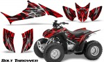Honda TRX90 CreatorX Graphics Kit Bolt Thrower Red BB 150x90 - Honda TRX 90 2006-2020 Graphics