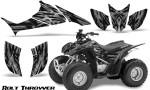 Honda TRX90 CreatorX Graphics Kit Bolt Thrower Silver 150x90 - Honda TRX 90 2006-2020 Graphics