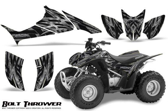 Honda TRX90 CreatorX Graphics Kit Bolt Thrower Silver 570x376 - Honda TRX 90 2006-2020 Graphics