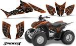 Honda TRX90 CreatorX Graphics Kit SpiderX OrangeDark 150x90 - Honda TRX 90 2006-2020 Graphics