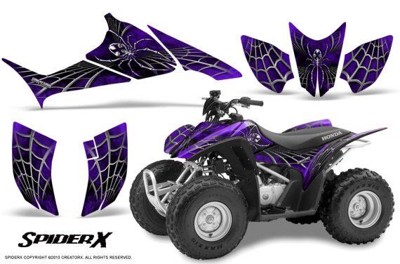 Honda TRX90 CreatorX Graphics Kit SpiderX Purple 570x376 - Honda TRX 90 2006-2020 Graphics
