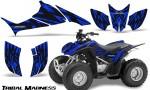 Honda TRX90 CreatorX Graphics Kit Tribal Madness Blue 150x90 - Honda TRX 90 2006-2020 Graphics
