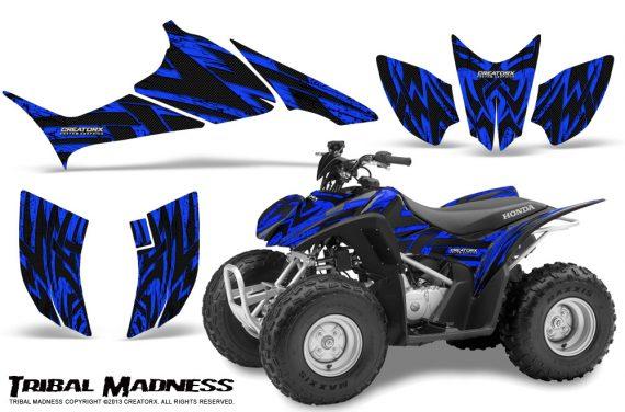 Honda TRX90 CreatorX Graphics Kit Tribal Madness Blue 570x376 - Honda TRX 90 2006-2020 Graphics