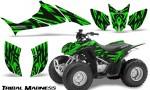 Honda TRX90 CreatorX Graphics Kit Tribal Madness Green 150x90 - Honda TRX 90 2006-2020 Graphics
