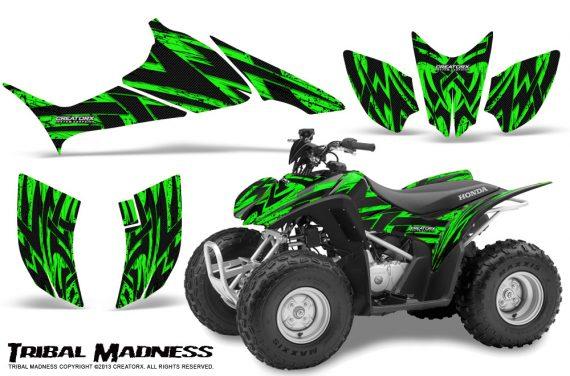 Honda TRX90 CreatorX Graphics Kit Tribal Madness Green 570x376 - Honda TRX 90 2006-2020 Graphics