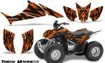 Honda TRX90 CreatorX Graphics Kit Tribal Madness Orange 150x90 - Honda TRX 90 2006-2020 Graphics
