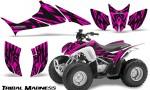 Honda TRX90 CreatorX Graphics Kit Tribal Madness Pink 150x90 - Honda TRX 90 2006-2020 Graphics