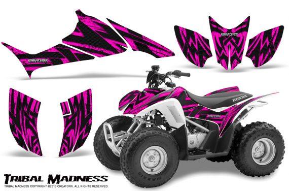Honda TRX90 CreatorX Graphics Kit Tribal Madness Pink 570x376 - Honda TRX 90 2006-2020 Graphics