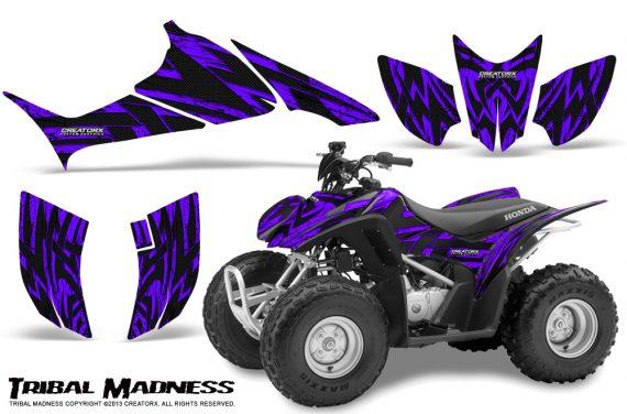 Honda TRX90 CreatorX Graphics Kit Tribal Madness Purple 570x376 - Honda TRX 90 2006-2020 Graphics