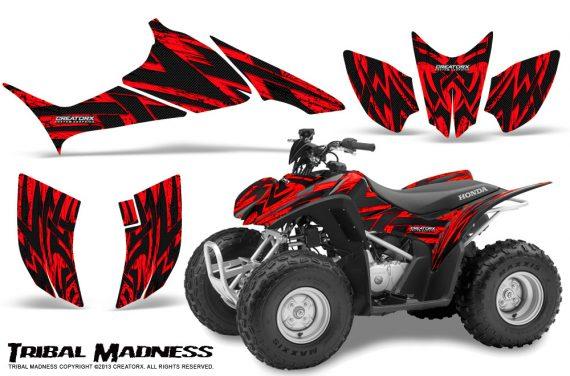 Honda TRX90 CreatorX Graphics Kit Tribal Madness Red BB 570x376 - Honda TRX 90 2006-2020 Graphics
