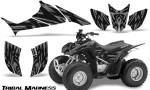 Honda TRX90 CreatorX Graphics Kit Tribal Madness Silver 150x90 - Honda TRX 90 2006-2020 Graphics