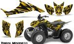 Honda TRX90 CreatorX Graphics Kit Tribal Madness Yellow 150x90 - Honda TRX 90 2006-2020 Graphics