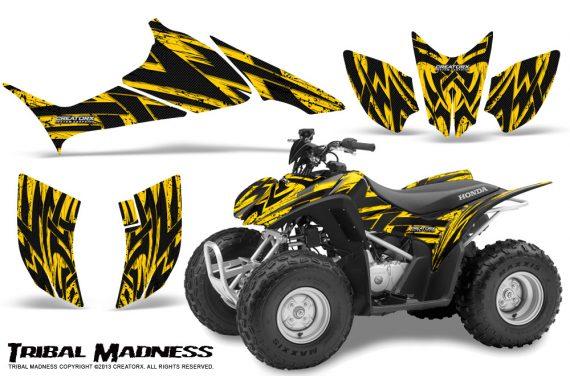 Honda TRX90 CreatorX Graphics Kit Tribal Madness Yellow 570x376 - Honda TRX 90 2006-2020 Graphics