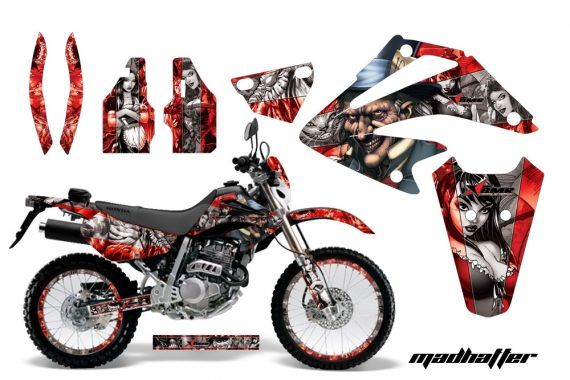 Honda XR 250 SM AMR Graphic Kit MH Silver Redbg 570x380 - Honda XR250 SM Super Moto 2003-2005 Graphics